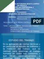 Presentacion Admon d La Prod. Linda Martha