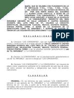 Contrato de Cosrwemodato Melquiades