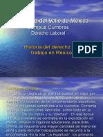 Historia Del Derecho Del Trabajo en Mexico