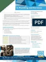 CPC40312 Cert IV Plumbing Services