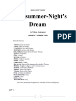 A Midsummer Night's Dream RIDER Script