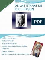 Teoria de Las Etapas de Erick Erikson