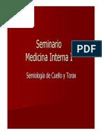 Seminario 1-Semiologia Cuello y Torax