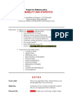 Probability & Statistics - MIDTERM PROJECT