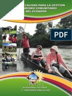 Manual de Calidad de Turismo Comunitario
