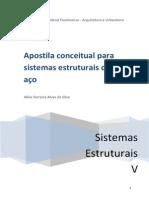 Apostila Conceitutal Sistemas Estruturais de Aco - Projeto Monitoria 2012