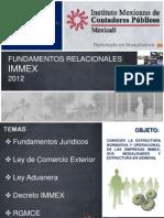 Fundamentos Relacionales Immex - Diplomado Industria Maquialdora Ccpmx