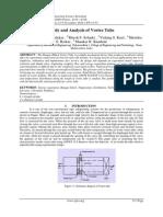 Study and Analysis of Vortex Tube
