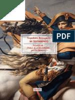 Mi Testamento - Napoleón Bonaparte