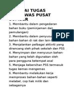 Senarai Tugas Pengawas Pusat Sumber