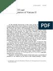 Benedict XVI and the Interpretation of Vatican II