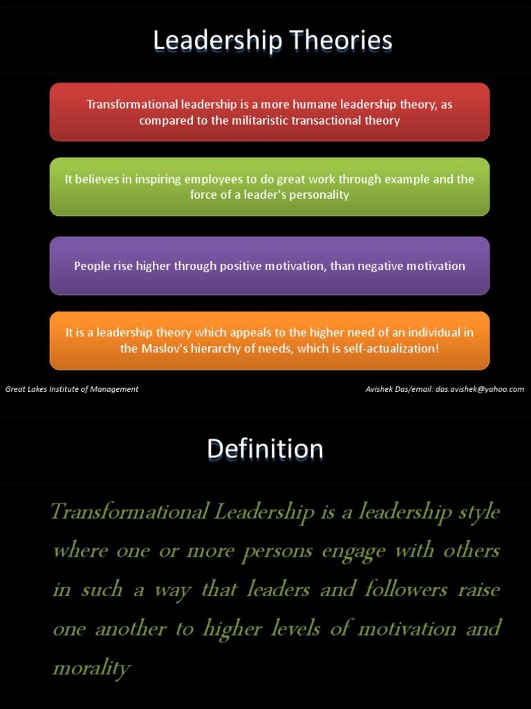 transformational leadership | transformational leadership | leadership