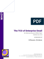 The TCO of Enterprise Email