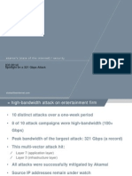 Q3 2014 Record-Breaking 321 Gbps DDoS Attack from StateoftheInternet.com