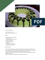 Coconut Cake Kukus