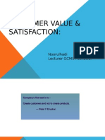 Value and Satisfication