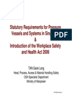Pressure Vessels Systems