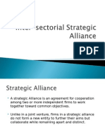 Inter-sectorial Strategic Alliance