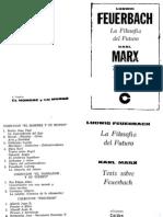 Feuerbach - Tesis Provisionales Para La Reforma de La Filosofía. Principios de La Filosofía Del Futuro B&N