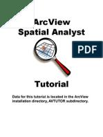 Spatial Analyst Tutorial