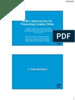 国連・豊田市「持続可能な都市に関するハイレベル・シンポジウム」(2015年1月16日)プレゼン資料