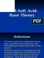 Hard Soft Acid Base Theory