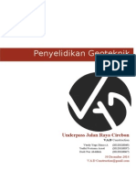 Prog Penyelidikan Geoteknik