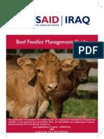 Beef Feedlot Management Guide