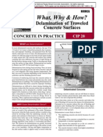 CIP20-Delamination of Troweled Concrete Surfaces