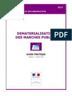 Guide Pratique Dématerialisation Marchés Publics