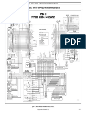 [DIAGRAM_4PO]  WTEC III Wiring Schematic | Allison Gen 4 Wiring Diagrams |  | Scribd