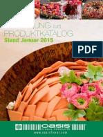 Katalogergänzung Januar 2015