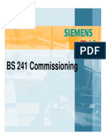 BS241 commissioning