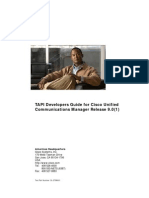 9.0(1) Cisco Unified Communications Manager TAPI Developers Guide