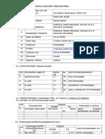 Application Form KPPRA