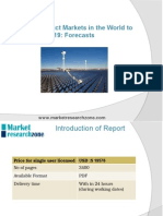 Lighting Product Markets in the World to 2019 - Forecasts