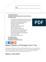 Fire Exit building Calculation 2
