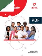 Annual Report Airtel