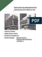 Efectul Variatiei Sistemului Structural Asupra Rigiditatii de Nivel