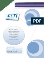 Stage de Conception et Développement d'une application de gestion  des absences.