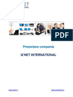 Prezentare Q'NET Romana 2014