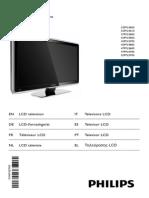 Manual instrucciones Televisor Philips