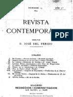 Revista Contemporánea (Madrid). 15-12-1875, n.º 1
