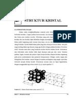 Bab 3 Struktur Kristal