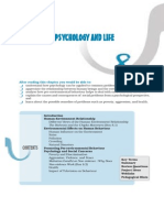 8. Psychology and Life