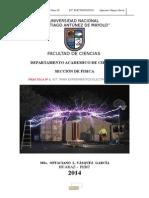 Práctica de Laboratorio N_ 01 Fisica III - 2014-II