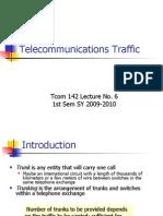 6 Telecommunications Traffic
