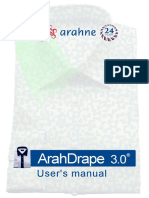 ArahDrape® User's manual