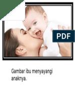 Gambar Ibu Mendukung Anak