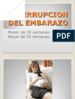 Interrupcion Del Embarazo